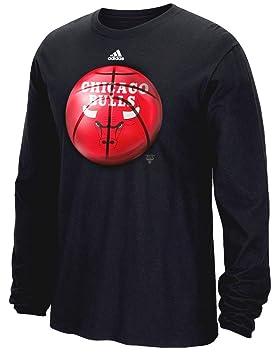 Adidas Chicago Bulls NBA Logo Fútbol Premium Print L/S Men s –