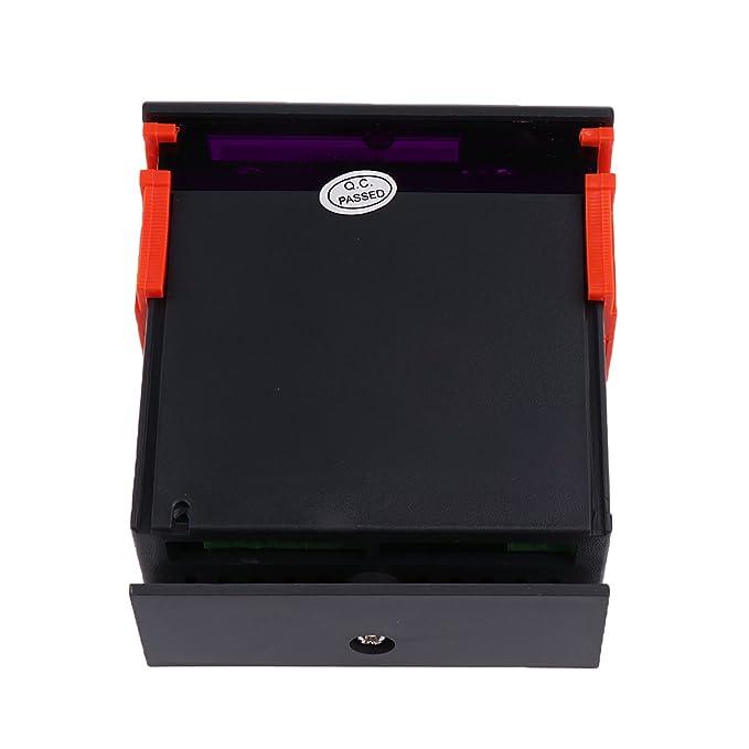 220V Digital Controlador De Humedad Aire Rango 1%~99% MH13001: Amazon.es: Bricolaje y herramientas