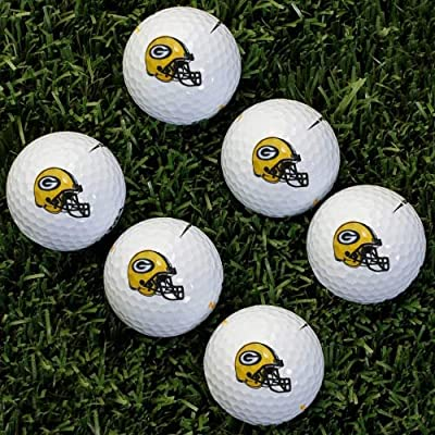 NFL Greenbay Packers Golf Ball, Pack of 6