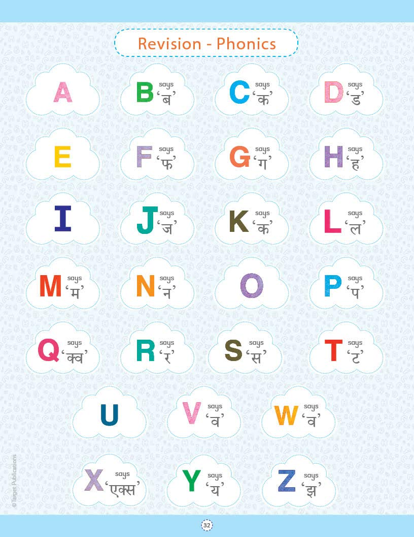 Buy English Phonics Books For Kids Learn English Abcd Letters 2 And 3 Letter Words With Various Alphabet Sounds 2 To 5 Year Old For Pre Primary Preschool Kindergarten
