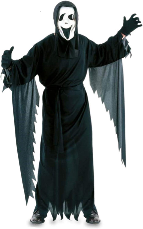 Fyasa 702768 Scream disfraz, tamaño grande: Amazon.es: Juguetes y ...