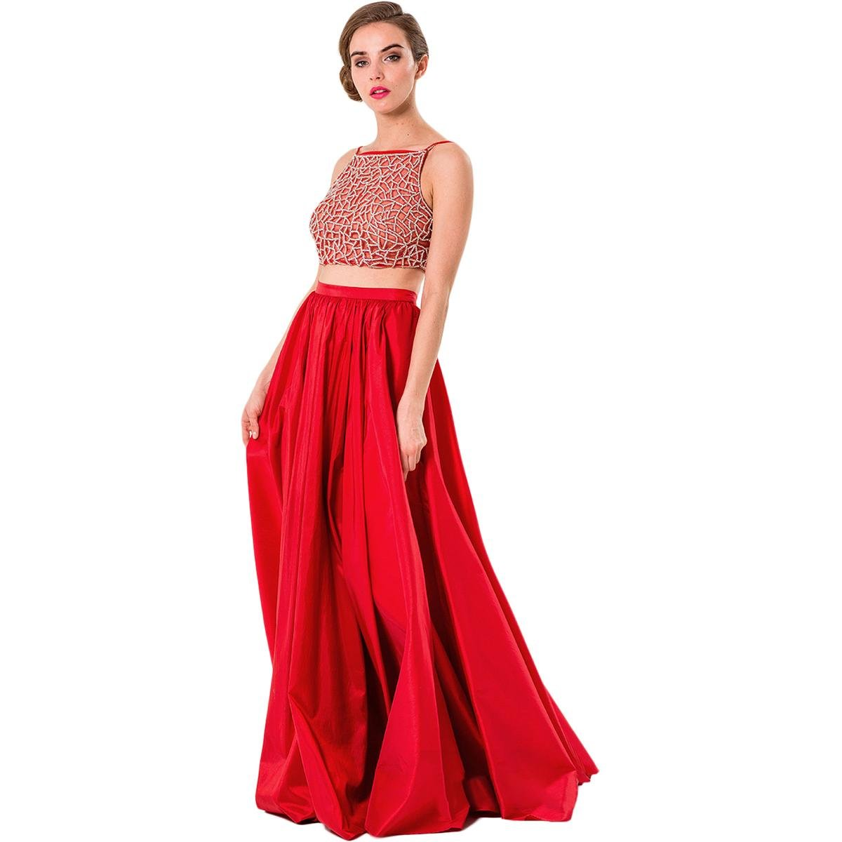 13909a960cf Glamour By Terani Couture Short Sleeve Ball Gown - Data Dynamic AG