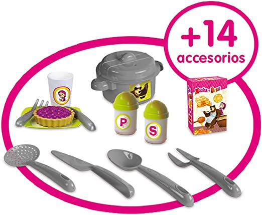 Amazon Com Smoby Mascha Prima Cucina Toys Games