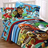 Paw Patrol 4pc Twin Comforter and Sheet Set Bedding Collection