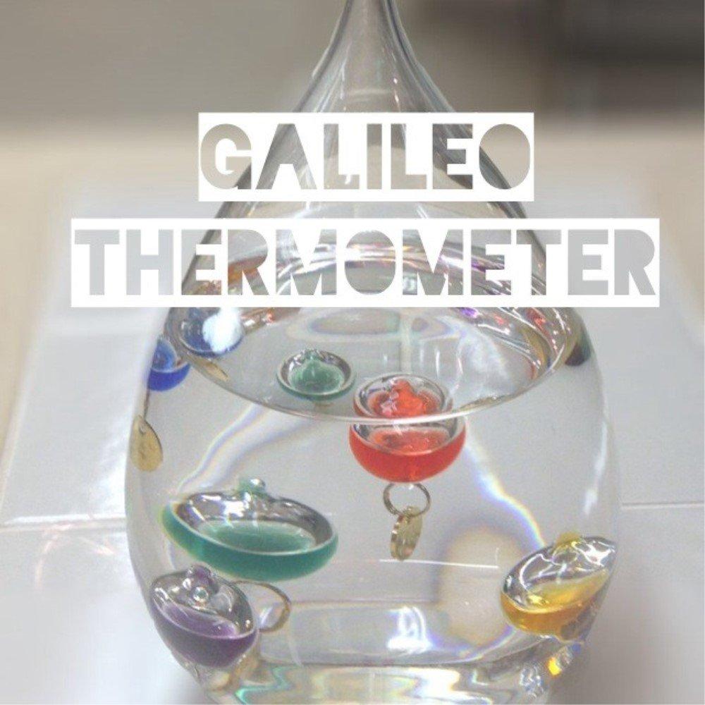 温度計 おしゃれ インテリア温度計 インテリア雑貨 ガラスフロート温度計しずくL B00YTWKCNU