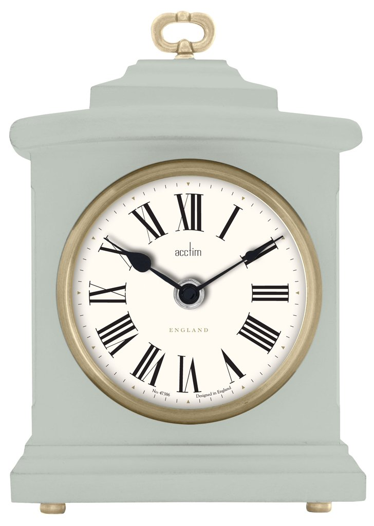 Acctim 33805 Langdale Mantel Clock in Jade