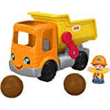 Fisher-Price Little People Work Together Dump Truck, Musical Toddler Toy
