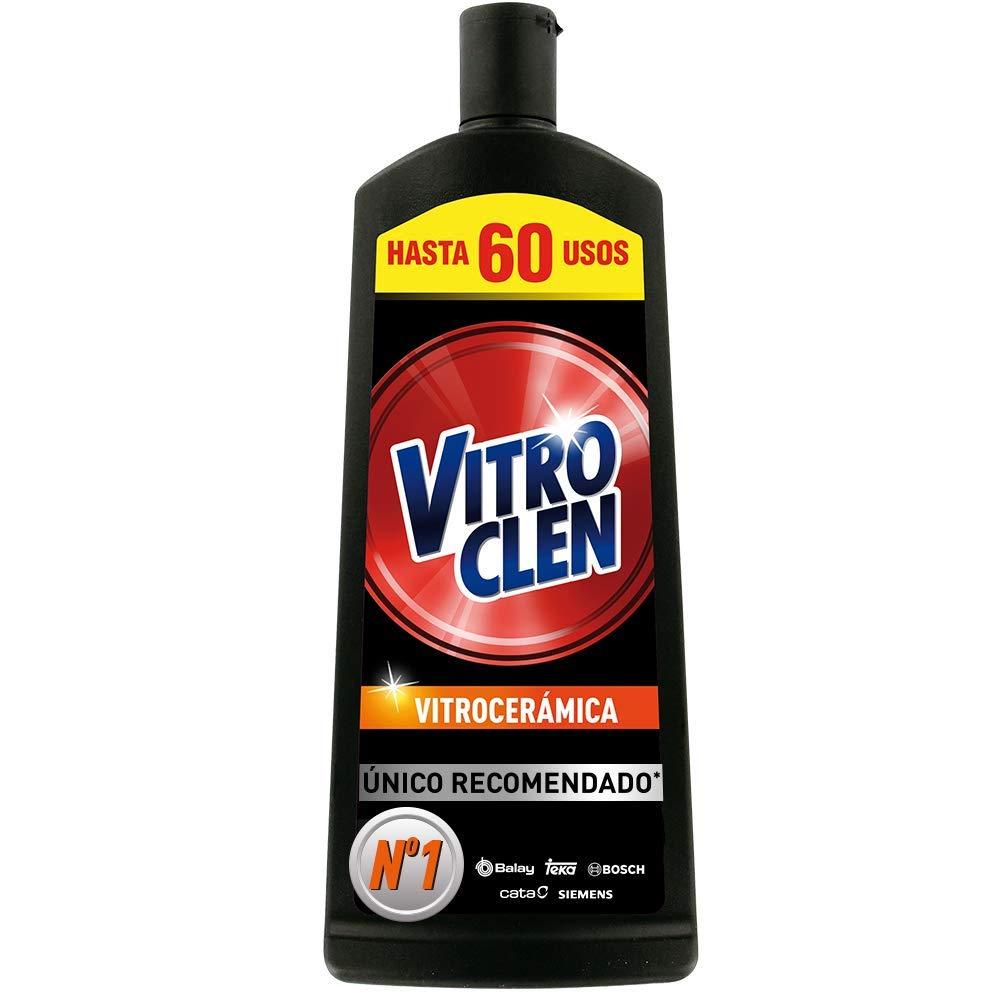 Vitroclen Limpiador Vitrocerámica en Crema - 450 ml: Amazon ...