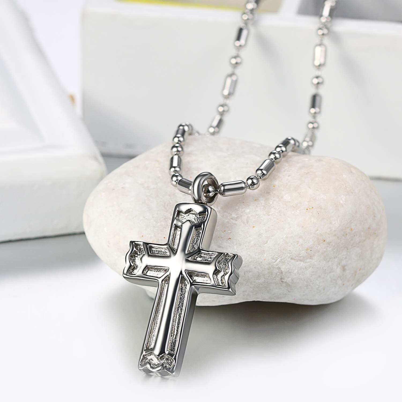 1x Homme Bracelet Cuir Croix Cross Bangle Chaîne Réglable Bijoux Religieux Rétro