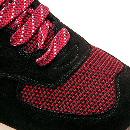 Genuina Scarpe Scarpe Interni Aumentano Pelle Colore Taglia Aumenta con di Nero 6 cm 41 Uomo Zerimar da zwdBqSSC