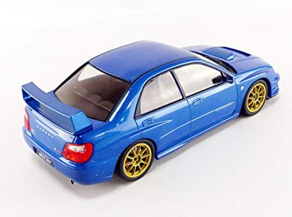 Subaru Impreza Sti Wrx Street Version 2003 Blue Met IXO 1:18 18CMC004 Model