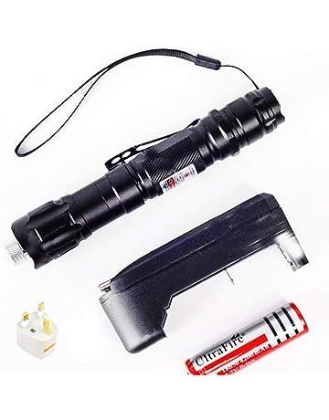 Profesional 1mW 532nm 5000m Potente y ligero Clicker remoto Demo Punto de puntero Proyector Linterna de