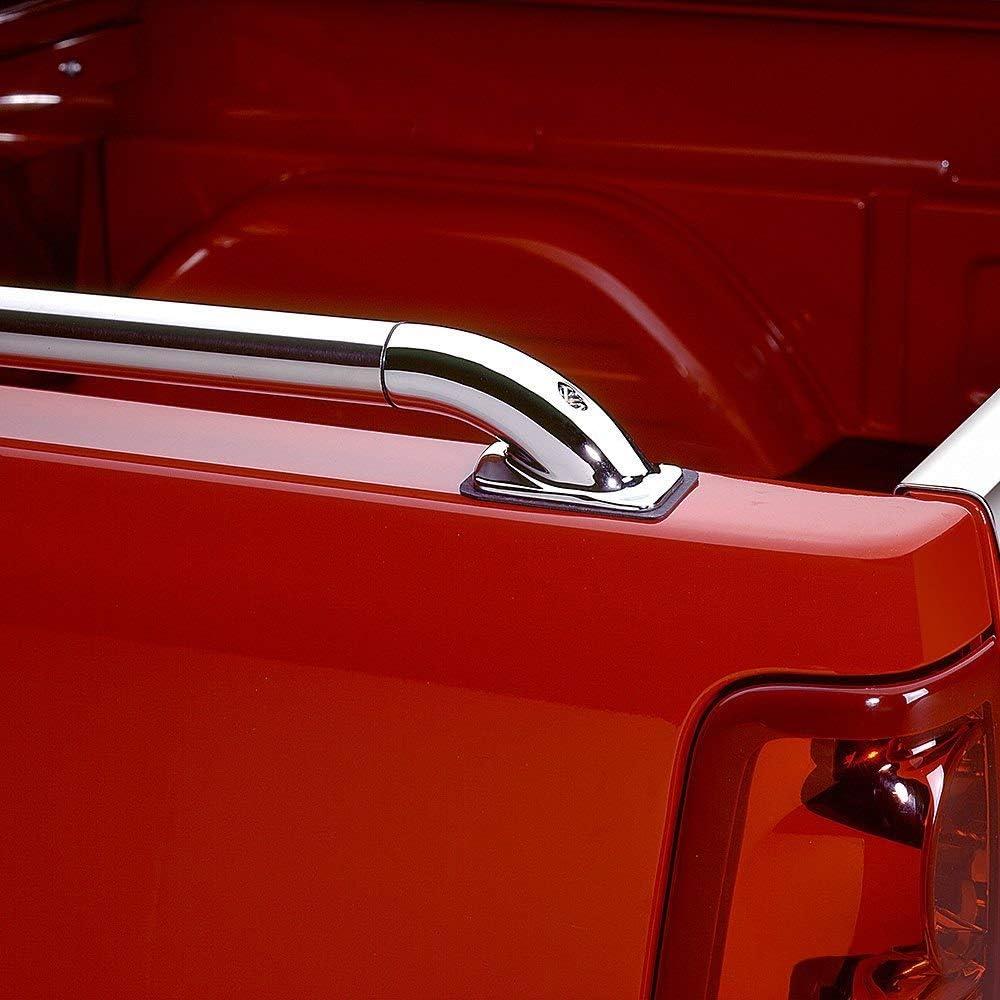 Putco SSR Locker Side Rails 59858 For 2020 Chevrolet Silverado HD 2500//3500-6.8ft Standard Bed
