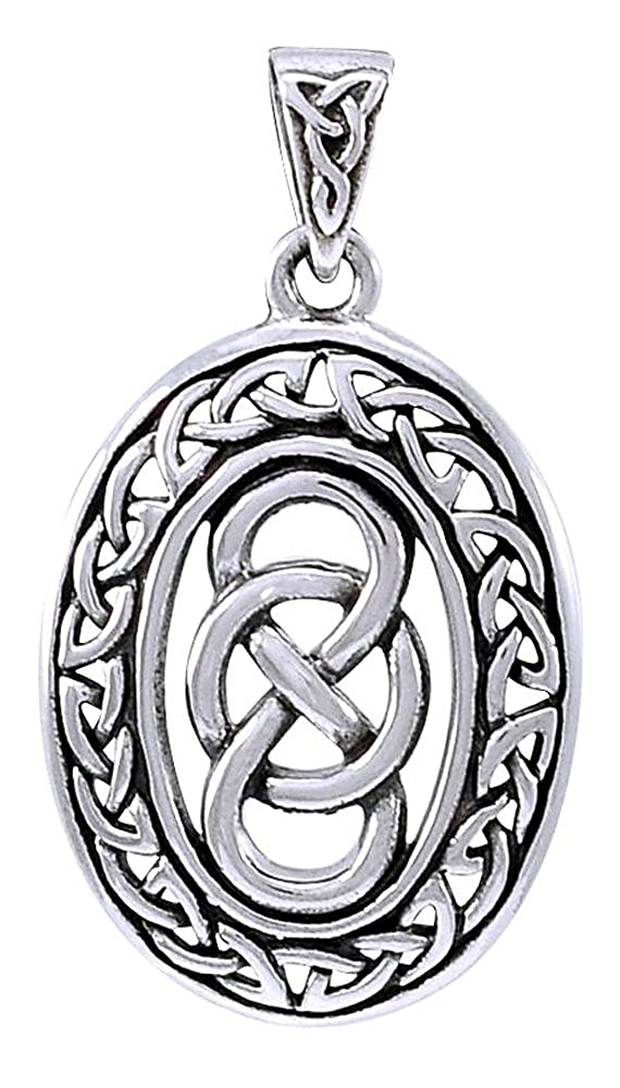 Jewelry Trends Sterling Silver Celtic Infinity Knot Pendant