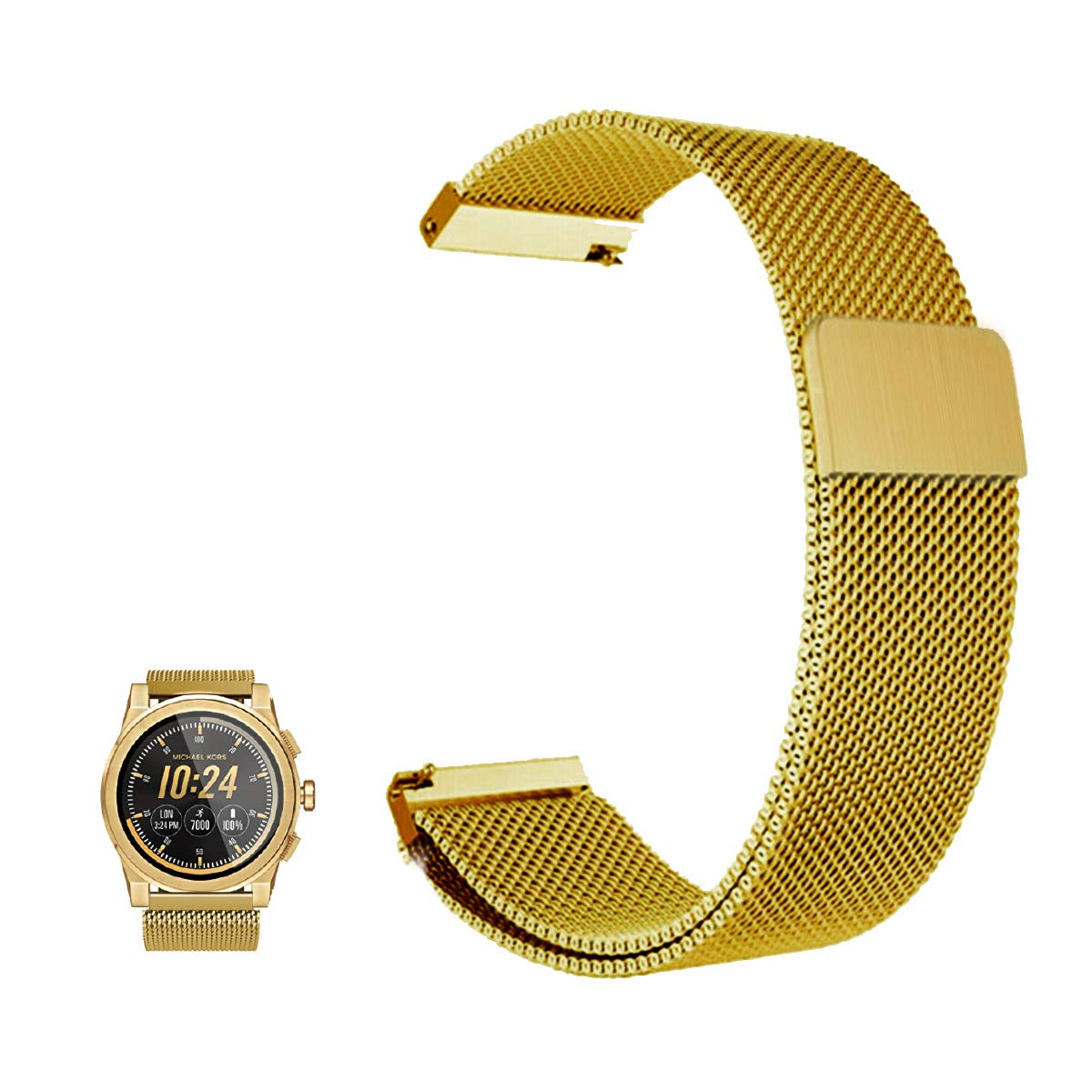 Amazon.com: FRGNIE for Michael Kors Access Grayson Band ...