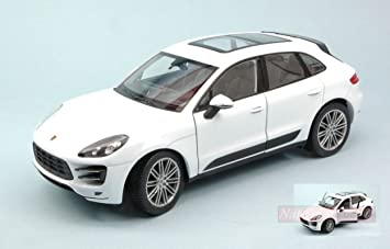 NEW Welly WE4047 Porsche MACAN Turbo 2014 White 1:24 MODELLINO Die Cast Model