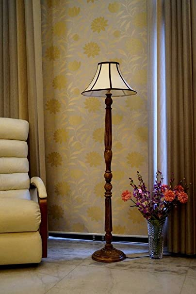 Tu Casa WWF-5 220-Watt Floor Lamp (Multicolour) Standing Lights at amazon