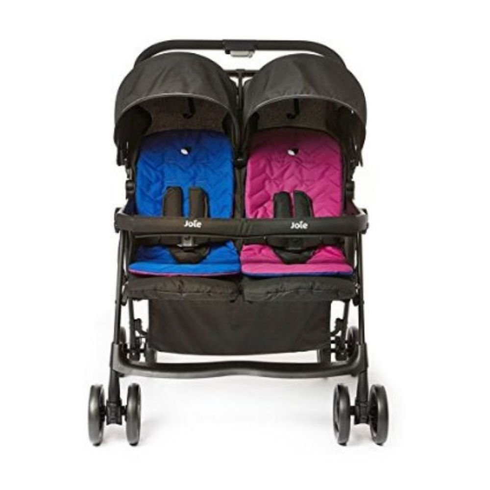 Joie Aire Twin Stroller - Pink/Blue S1217AAPNB000