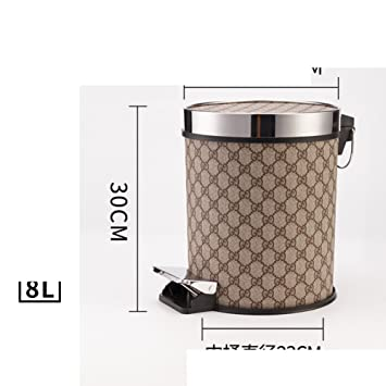 Amazon.com: European trash cans/creative garbage cans with ...