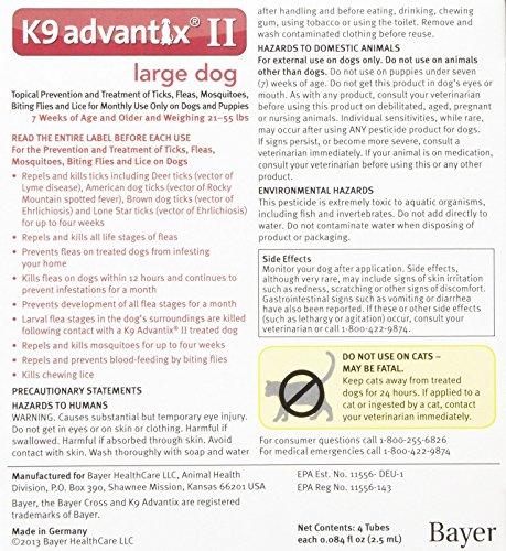 how to properly use k9 advantix