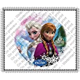Disney Frozen Edible Image Cake Toppers Frosting Sheet by Decopac
