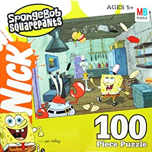Amazon.com: SpongeBob Squarepants 100 Piece Puzzle ...