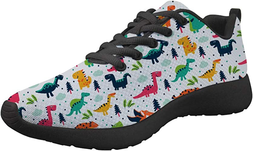 spArt Dinosaur Fashion Shoes for Girls