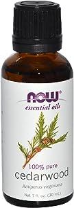 Cedarwood 100 Pure Essential Oil (1 Fluid Ounce)