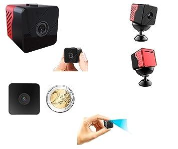 Cámara Espía espía Audio Vídeo Full HD 1080p batería larga autonomía 1 año visión nocturna LED