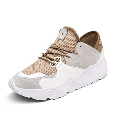 Summer air sports shoes/female net shoes,korean version of leisure flat bottom running shoes/students with thick soles of shoes-C Foot length=23.3CM(9.2Inch)