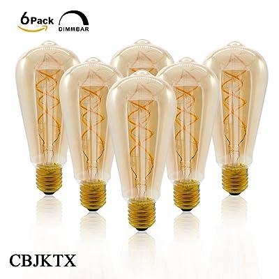 Edison Verre Filament 4w Cbjktx Ambre Led Ampoule Vintage Ampoules QrCWoBdxe