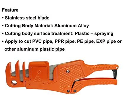 Haicable PC-323 Wiring Duct Cutter apply to cut PVC pipe, PPR pipe