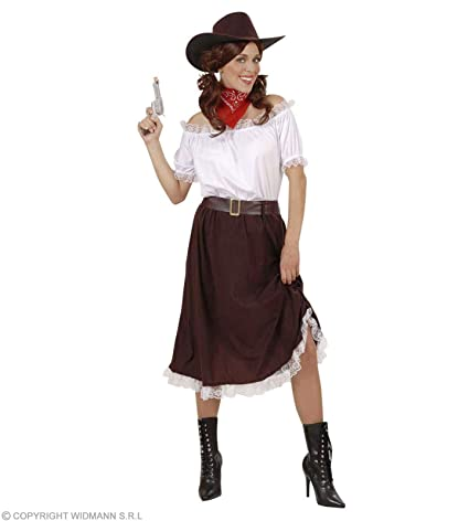 159a9f9f9ca Amazon.com  Ladies Cowgirl Outfit Accessory For Wild West Cowboy ...
