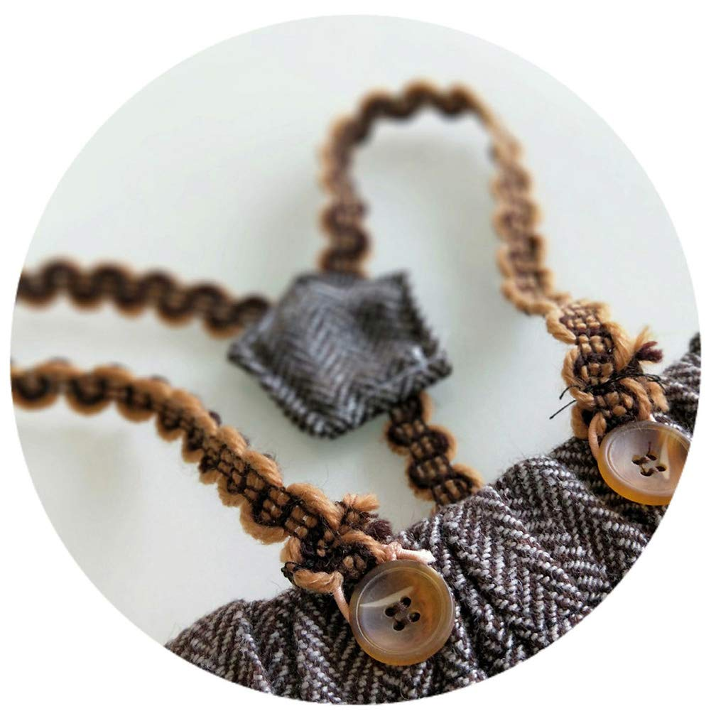 Infant Baby Photo Props Crochet Romper Newborn Photography Caps Set Cool Monthly Boys Knitted Berets Hat Outfits Clothes 3pc Brown by Newborn Costumes Set (Image #5)
