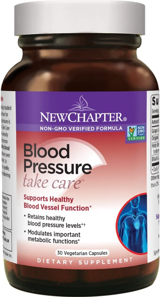 New Chapter Blood Pressure Supplement - …