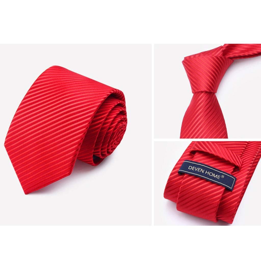 TIE Corbatas para Hombres, Corbatas de Moda, Corbatas de poliéster ...