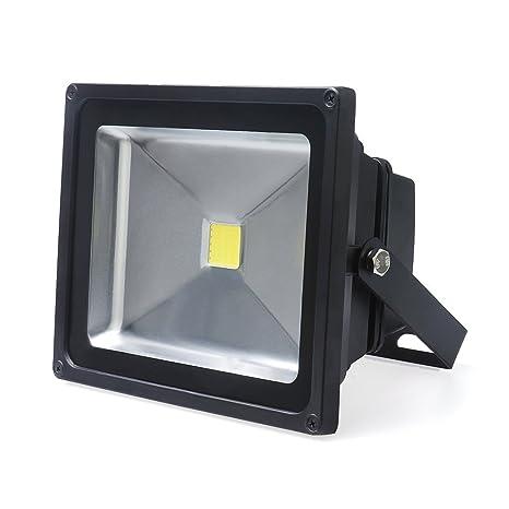 AuraLum 50W LED Foco Exterior Foco 4500lumen 230V IP65Blanco con Top de Qalität Mediados De Año De Tacón biFoJK