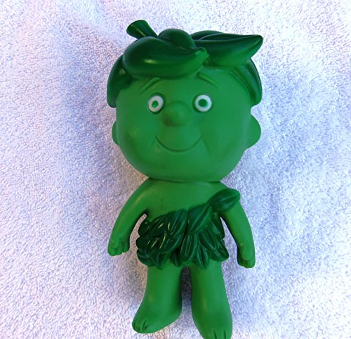 Little Sprout Jolly Green Giant Niblet Advertising Vinyl Toy Figure 6 1/2