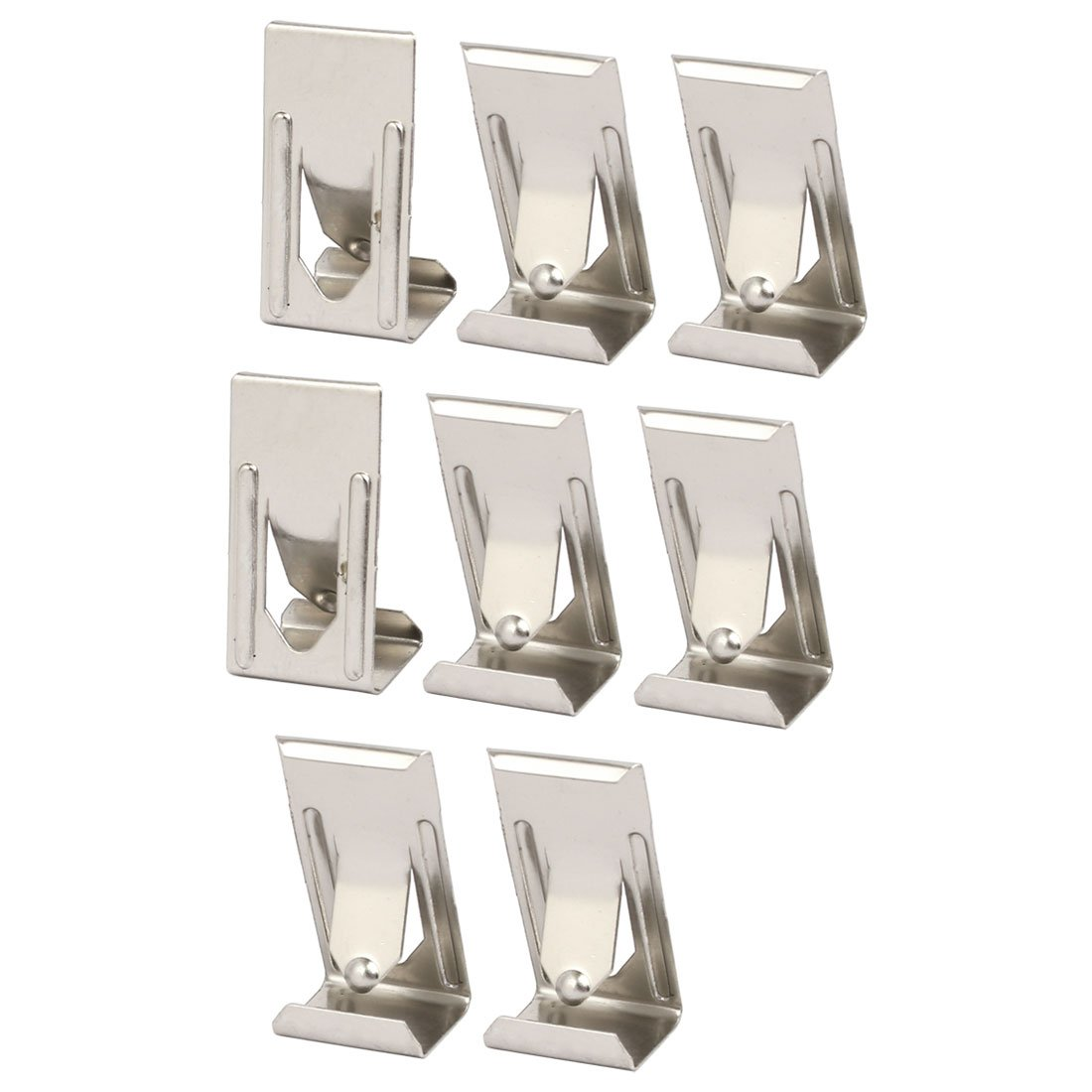 uxcell 26mmx14mm Picture Photo Frame Metal Spring Turn Clip Hanger Siver Tone 8pcs - - Amazon.com