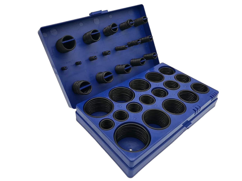 Juntas tó ricas de 3 hasta 50 mm 419 piezas de nbr anillo junta surtido junta de goma anillos de sellado Handwerkszeug