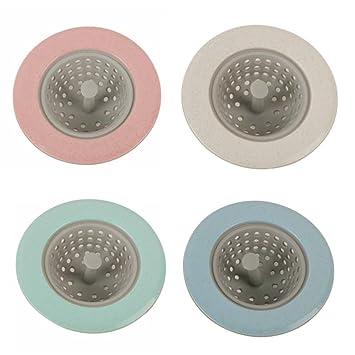 Netz 7,6 cm 2 Stück Küchen-Waschbecken Bad Abfluss-Sieb Durchmesser 3 Zoll