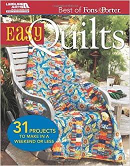 Best Of Fons Porter Easy Quilts Marianne Fons Liz Porter