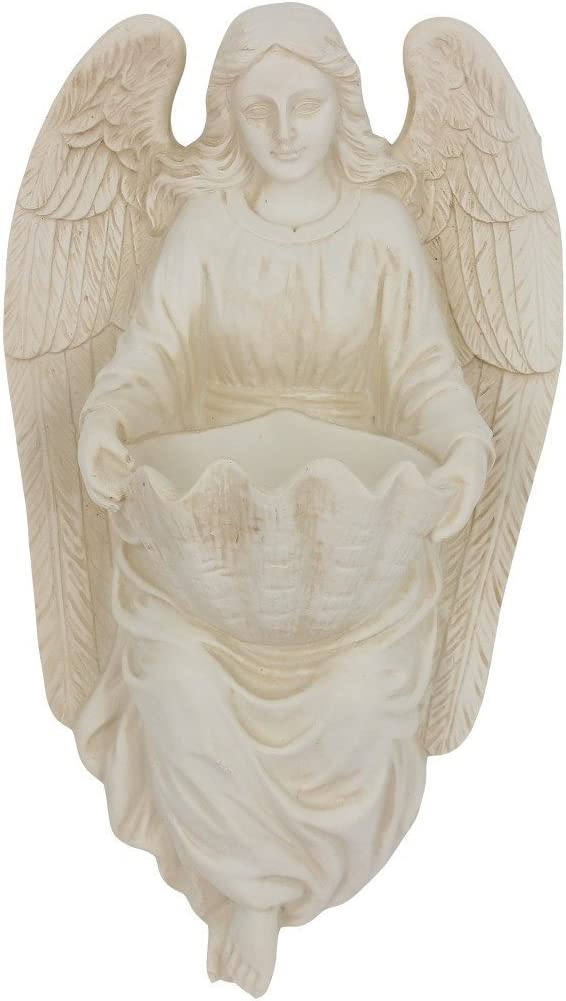 CB Angel Holding Shell Holy Water Font