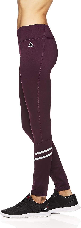 Reebok Legging de compression pour femme Formule Puissante Violette