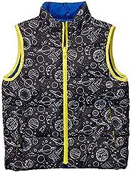Amazon Brand - Spotted Zebra Boys Reversible Puffer Vest