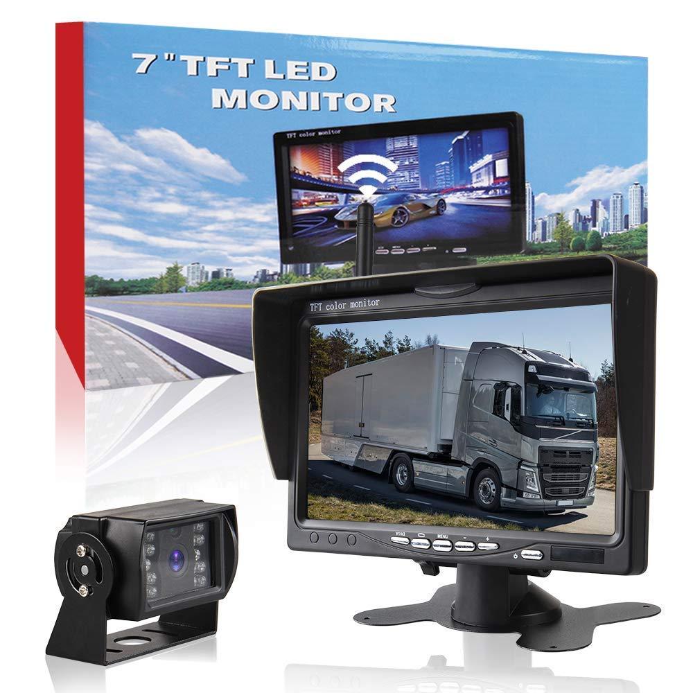Car Rover Senza Fili Telecamera Camion Retromarcia Sistema di Parcheggio con 7 'HD TFT Monitor Startway Autopart