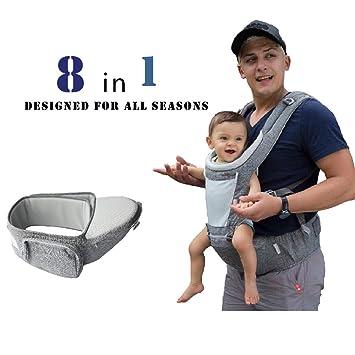 c08b57d4a3c Amazon.com   DaDa Hip Seat Baby Carrier
