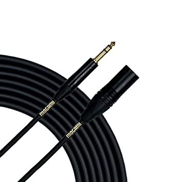Mogami Gold-TRS-XLRM-03 | High Definition Patch Cable TRS to XLR