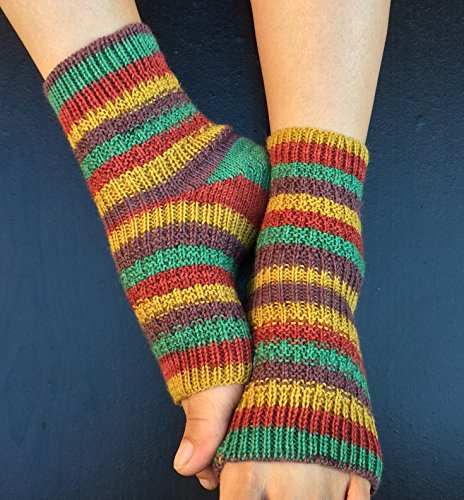 Hand Knit Pedicure Socks (Clever - Cloggs Stores