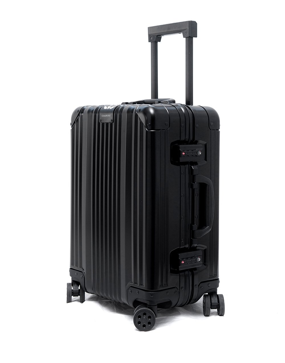 Cloud 9 - All Aluminum Luxury Hard Case Carry-On 20'' Durable with 360 Degree 4 Wheel Spinner TSA Approved (2017 Model) by Newbee Fashion